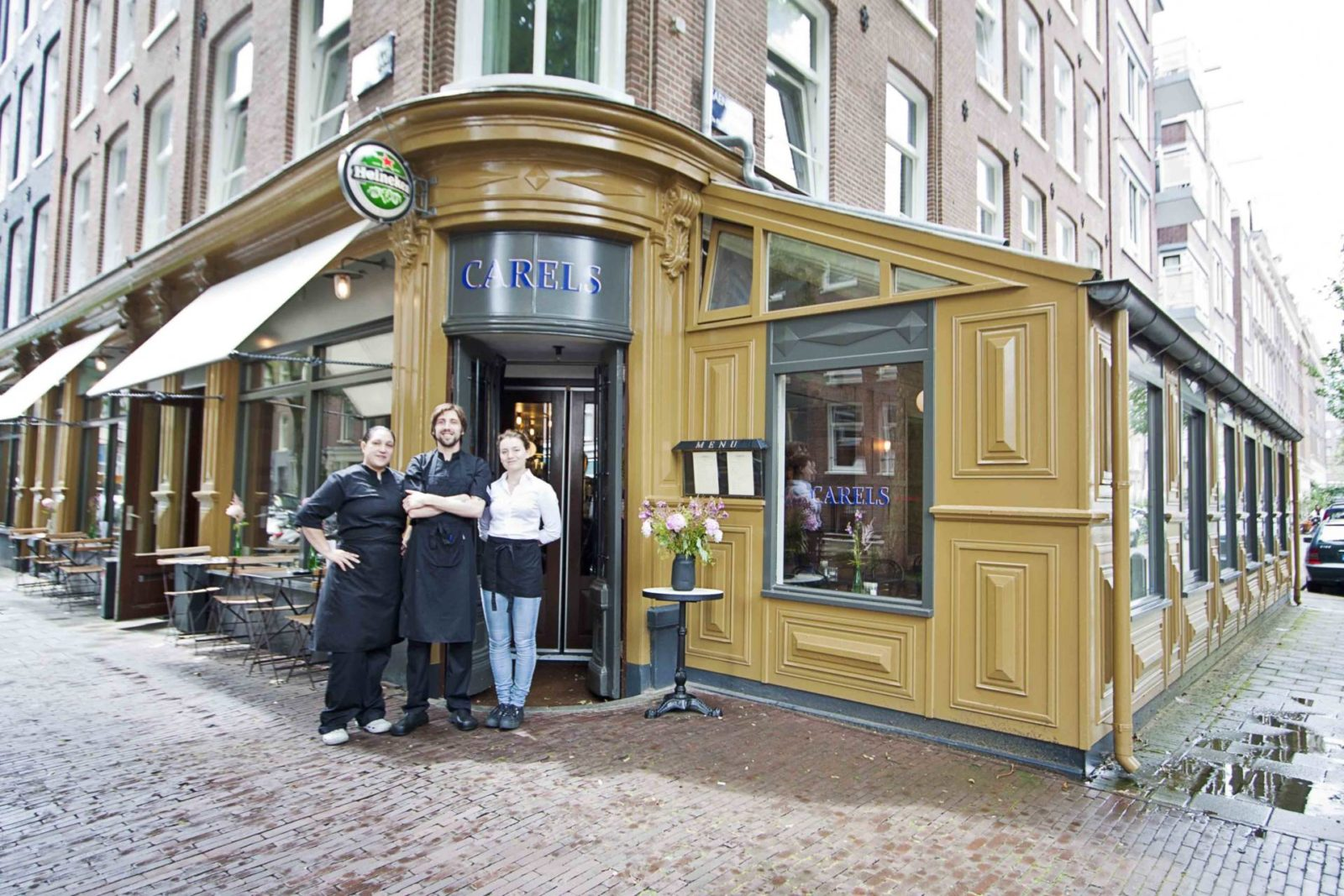 Couverts, Restaurant Carel's, Amsterdam